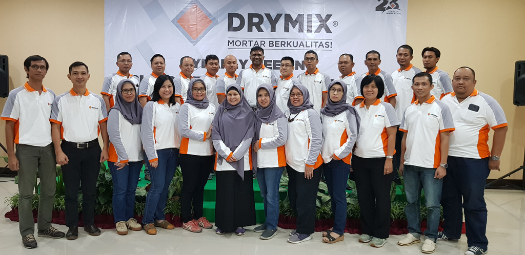 Drymix Management Team 2019